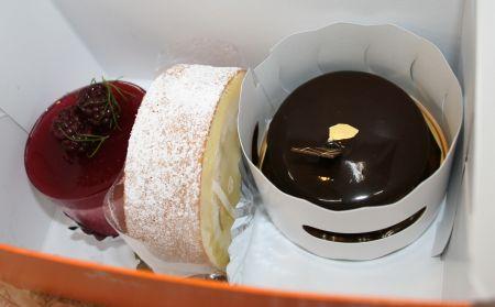 ファヴールのケーキ3点