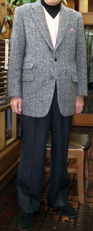 へリンボーンのジャケットです