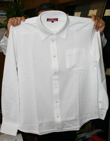ニットシャツのオーダーメード