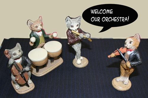 猫オーケストラ