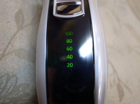 ラムダッシュの充電メーター