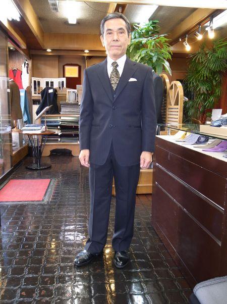 社長のオーダースーツ