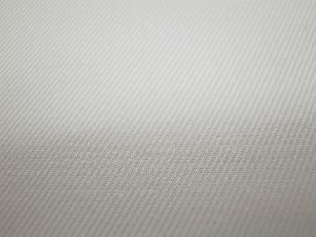 白のツイルの表面写真