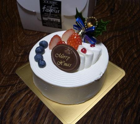 ファヴールのクリスマスケーキ