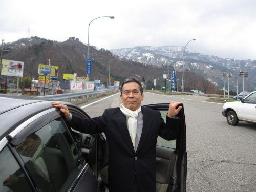 新潟県湯沢町にて