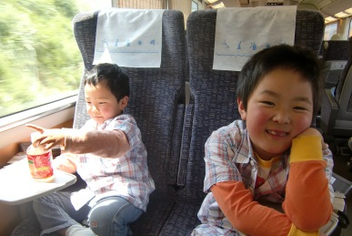 電車の旅はたのしいよ1