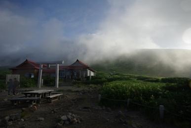 白山・室堂の朝1