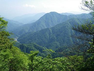 大室山から権現山
