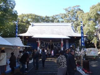 諫早神社に初詣