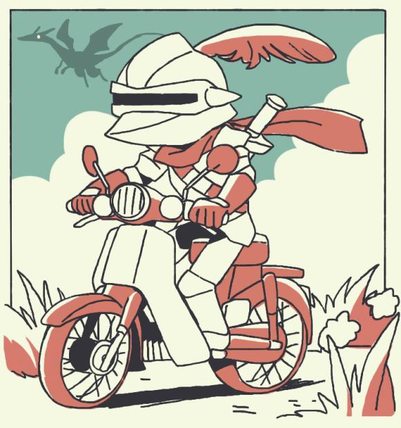 バイクに仮免は無い