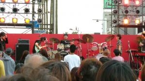 JABBERLOOPのステージ