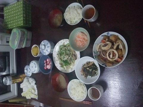 1-3夕食