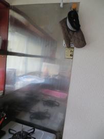 ガス台壁2