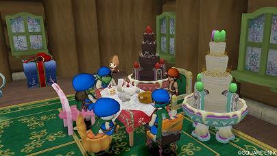 誕生日の一幕