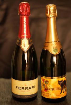 スパークリングワイン2種