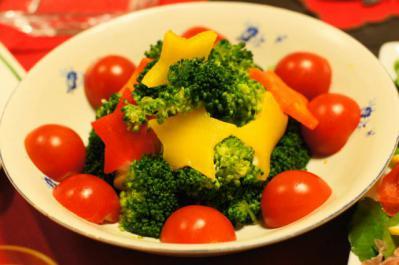 森のサラダ 温野菜添え