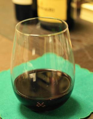 脚なしワイングラス