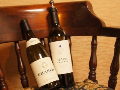 シャブリ VS ナパ 紅白ワイン合戦