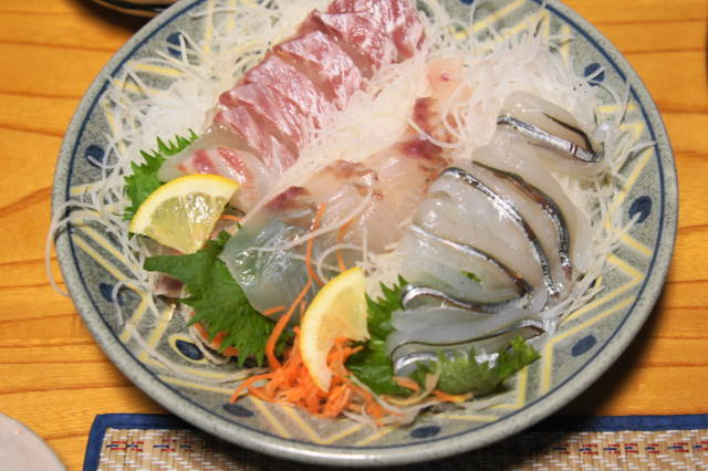 サヨリ・平目・鯛