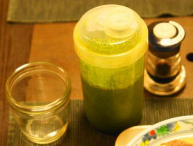 グリーンジュース・減塩醤油