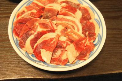材料・しし肉(ぼたん)