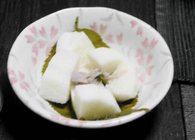 山芋の酢の物