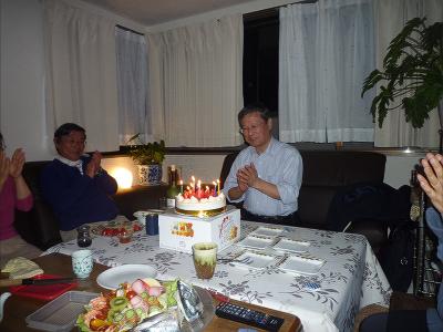 松浦先生誕生日