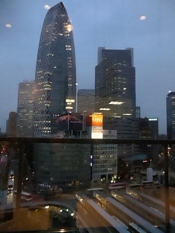 新宿駅西口俯瞰