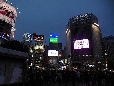 渋谷10月