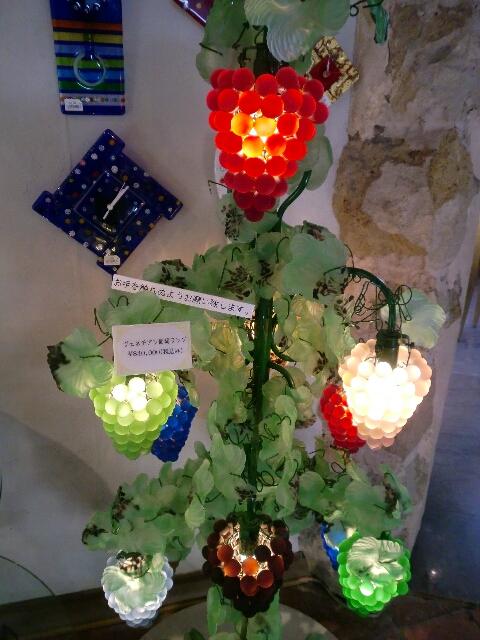 ヴェネチアン葡萄ランプ