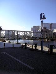 TYハーバー脇の橋