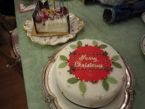 クリスマス、英国式クリスマスケーキ