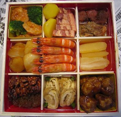おせち料理、中華料理
