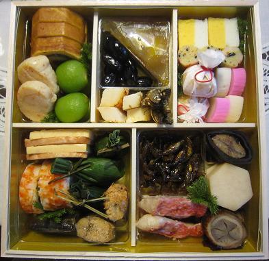 おせち料理、日本料理