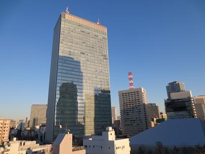 A赤坂、アクトシアター方向