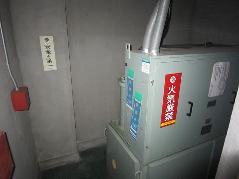 立川、エレベーター機械室
