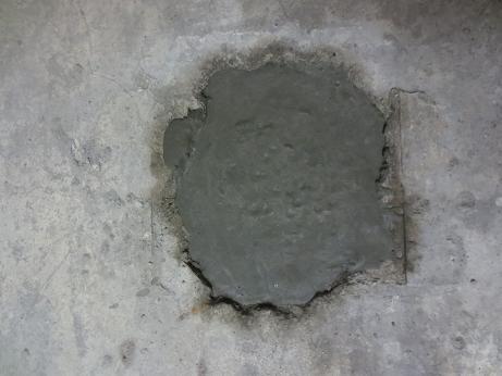 地下室、穴埋め