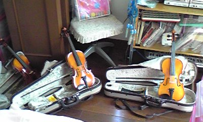 バイオリン3兄弟
