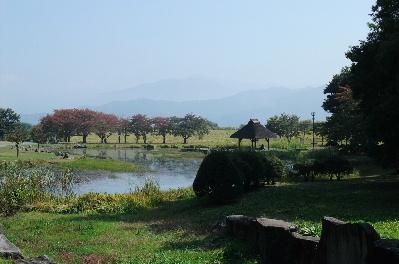 川中島の合戦場