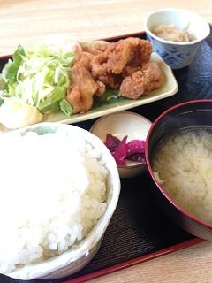 お食事処 桂や 日替りランチ(唐揚げ)