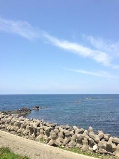 道の駅あつみ しゃりん 海1
