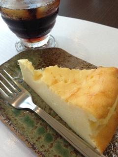 農々家 コーヒー チーズケーキ
