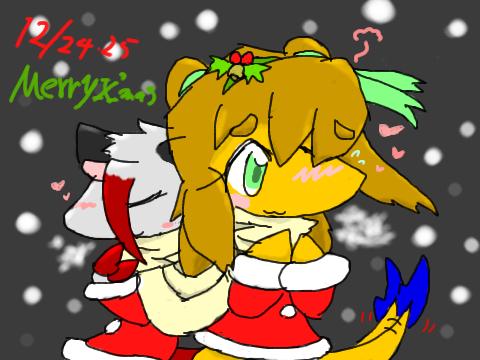 2012クリスマス絵