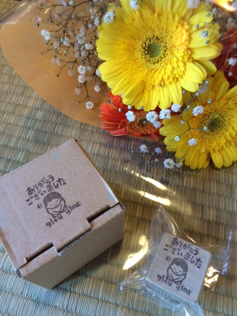 2014 11 06 お花とハンコ