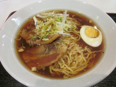 ねぎ油醤油麺