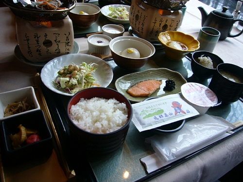 朝食(100423)