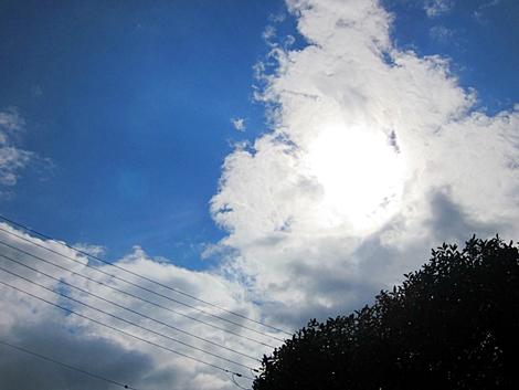 七二十 今日の空