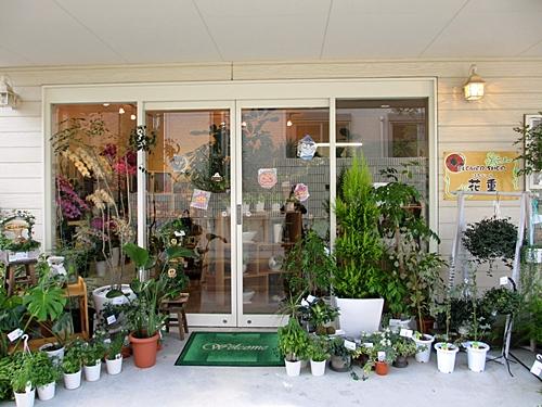 十二八 花屋 玄関