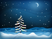 image huyu christmas-tree-night-wallpaper