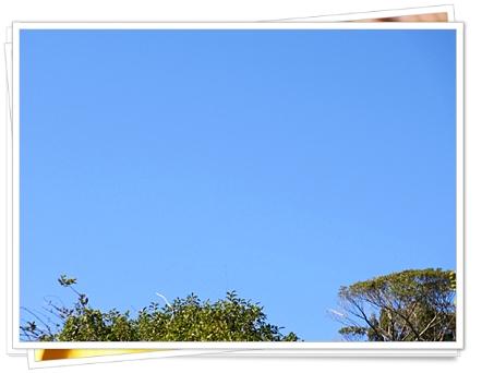 十二 三十一 大晦日の空